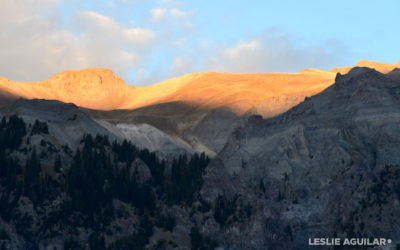 Sunset in Ouray