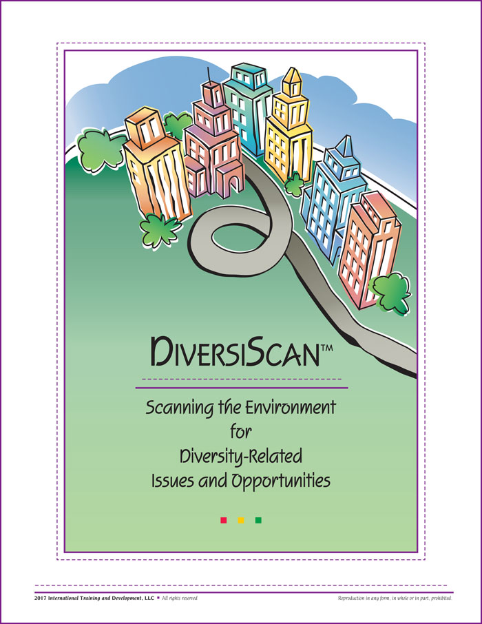 "Cover of ""DiversiScan™: Scanning the Environment for Diversity-Related Issues and Opportunities"""