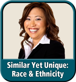 "Module 2: ""Similar Yet Unique: Race & Ethnicity"" from ""Diversity & Inclusion: It's Our Business"" eLearning"
