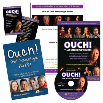 """Ouch! That Stereotype Hurts"" Package with Book, DVD, CD, Reminder Cards and Leader's Guide"