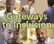 """Gateways to Inclusion"" Package showing DVD Cover and Disc"