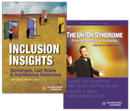 "Covers from both ""Inclusion Insights"" and ""Uh-Oh Syndrome"" Video Training Programs (Bundle)"