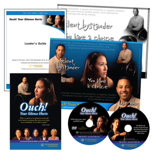 """Ouch! Your Silence Hurts"" Package with DVD, CDs, Posters and Leader's Guide"